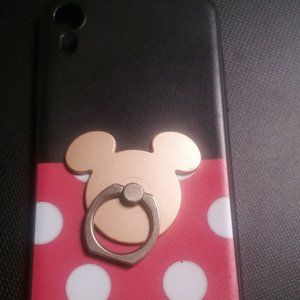 Accessories - Disney Minnie Mouse phone case with pop socket